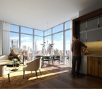 Brand New Luxury Full Amenities Building in Midtown West - Two Bedrooms Two Bathrooms unit for Rent